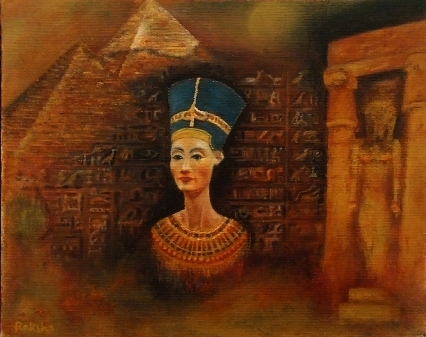 A Sovereign Woman - Nefertiti Revisited